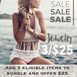 3 for $25 jewelry deal